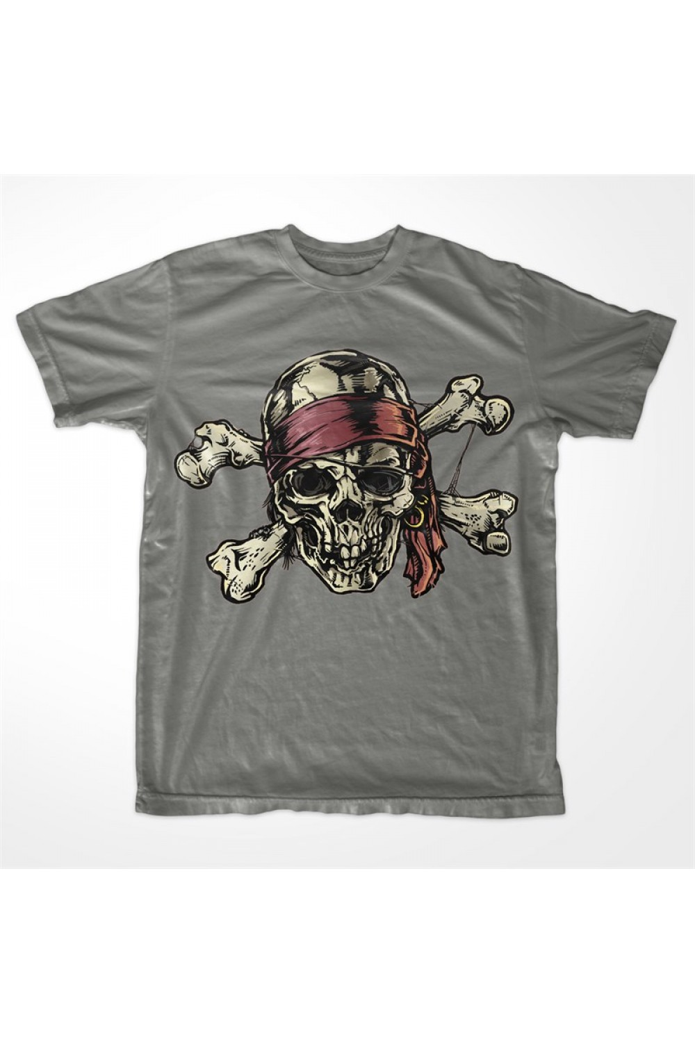 Pirate Men Printed T-shirt 4009